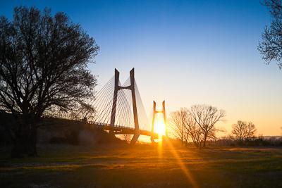 Pont de Beaucaire à Tarascon
